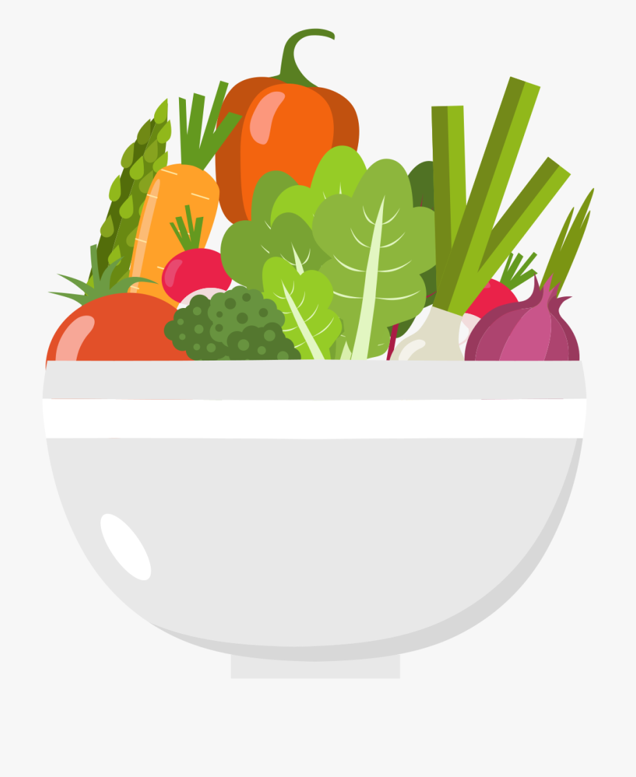 cup of flat. Clipart vegetables green vegetable