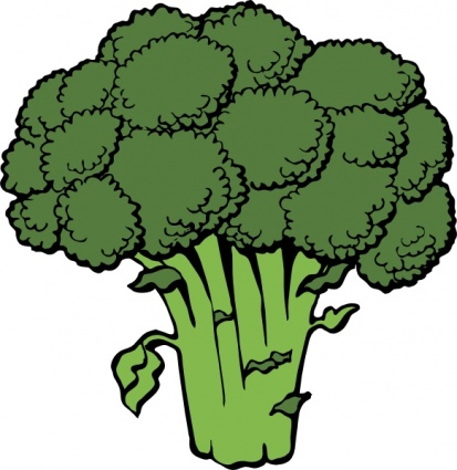 Clipart vegetables green vegetable. Faces free download best