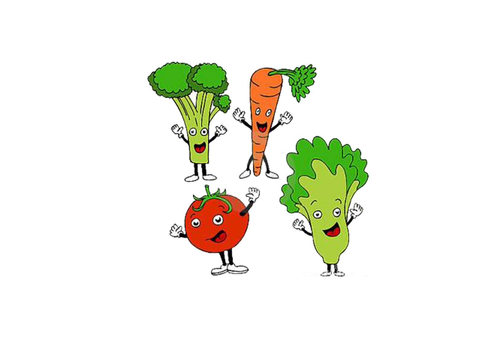 Health diet cartoon clip. Vegetables clipart healthy food
