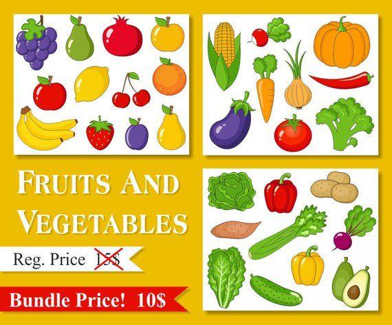 Clipart vegetables preschool. Fruits and clip art