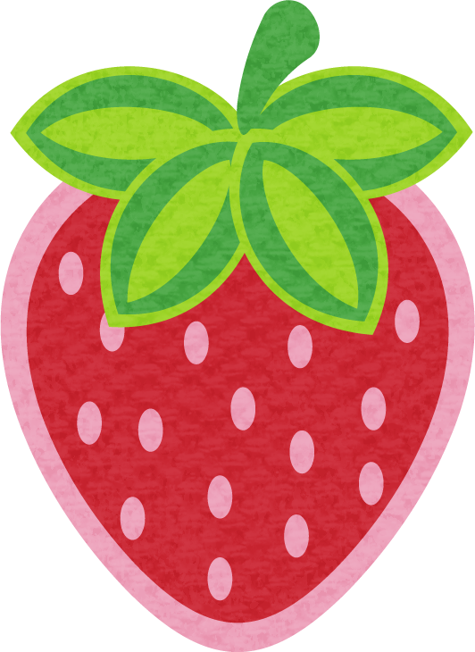 Strawberry moranguinho e turma. Clipart vegetables printable
