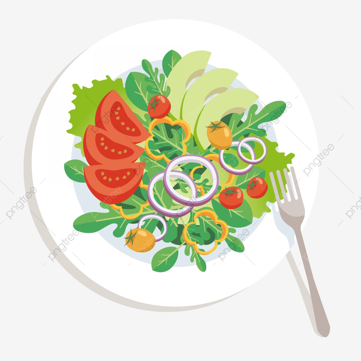 Vegetables clipart salad vegetable. Food pattern