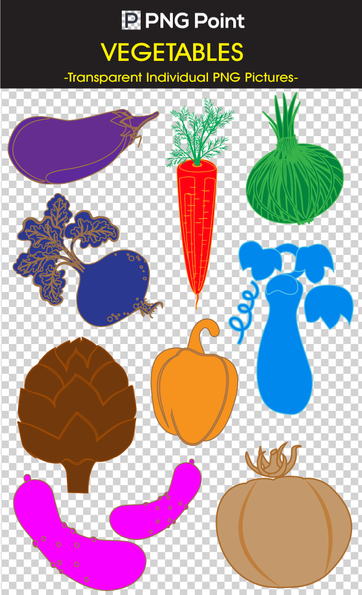 Clipart vegetables silhouette. Images icons and clip