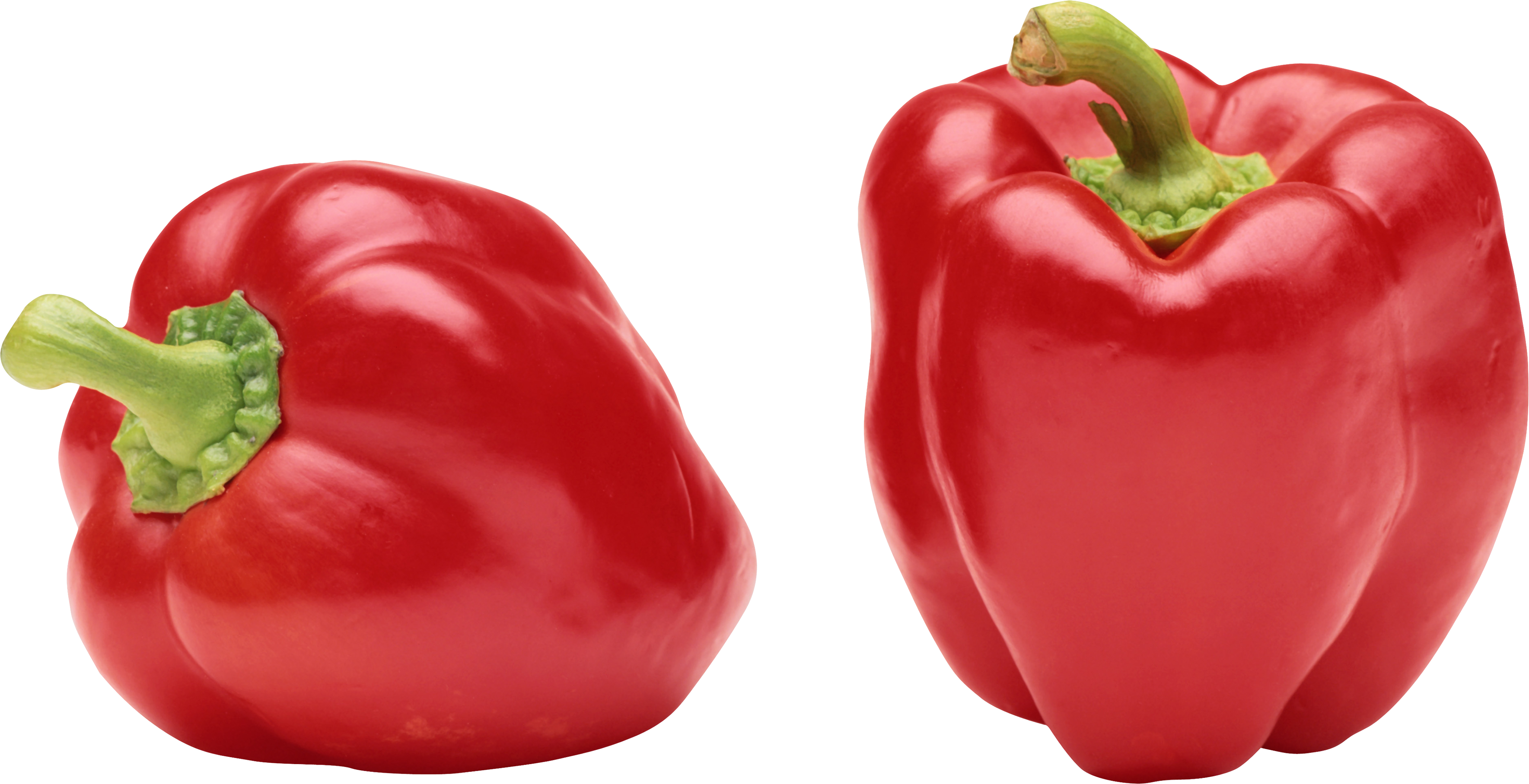 Peppers clipart sweet pepper. Red bell nine isolated