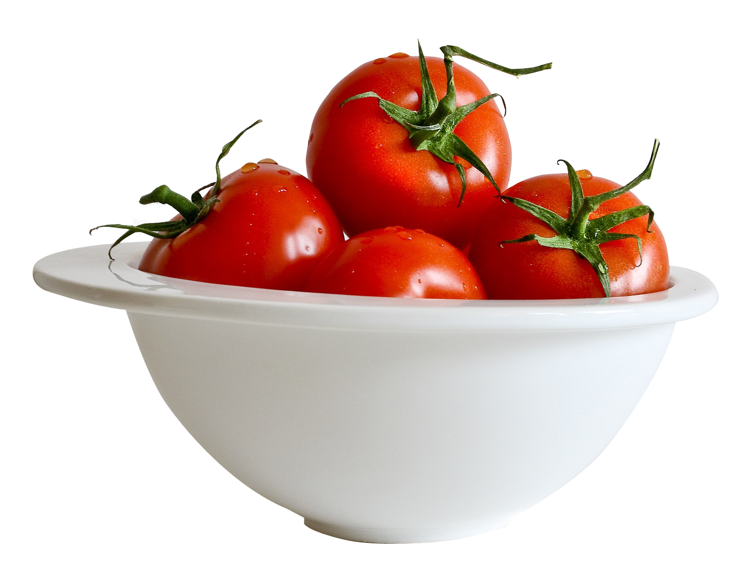 Tomatoes clipart sliced tomato. In bowl png image
