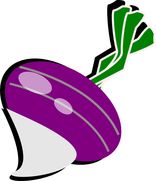Turnip by anttis and. Purple clipart brinjal