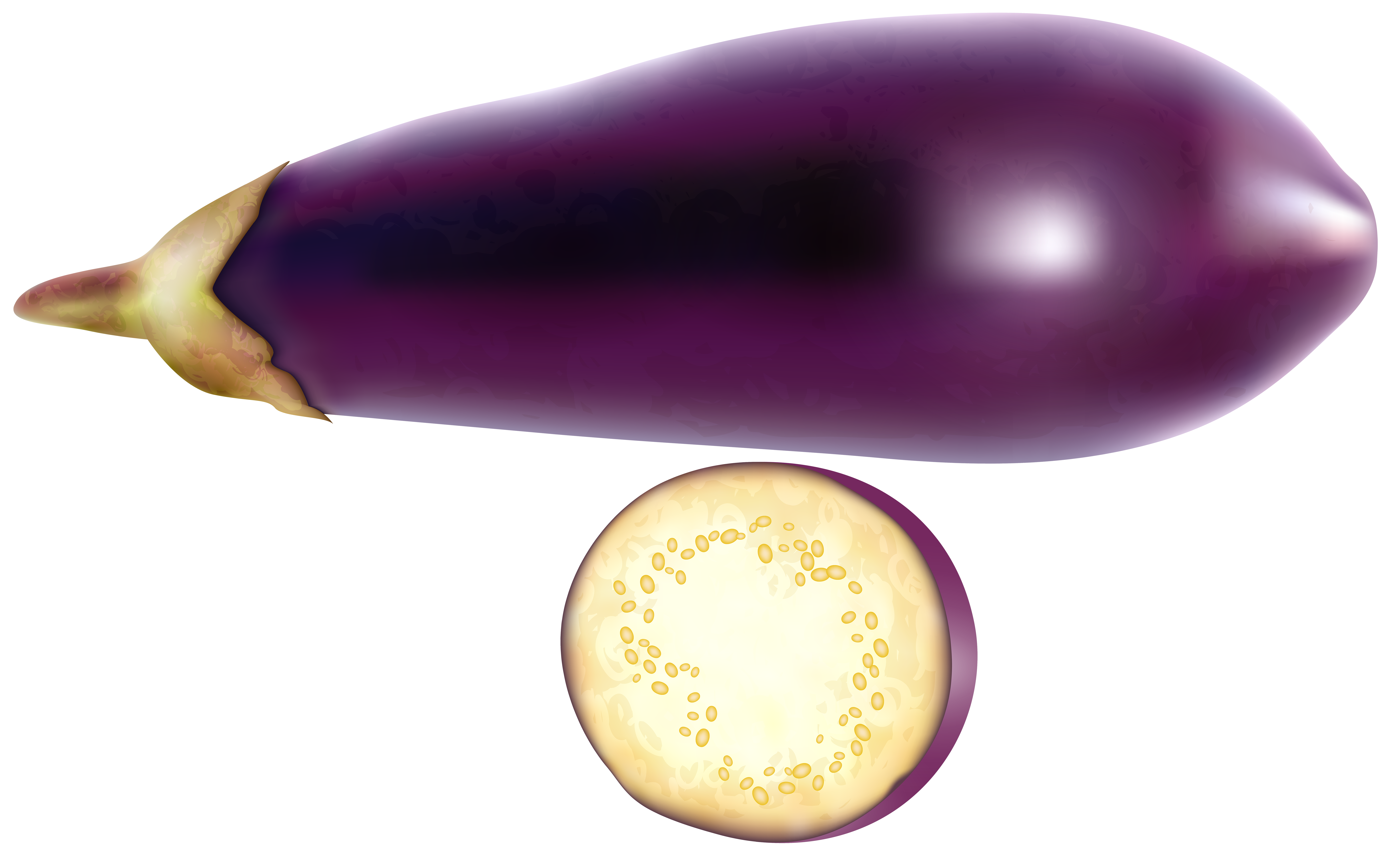 Eggplant free png clip. Vegetables clipart turnip