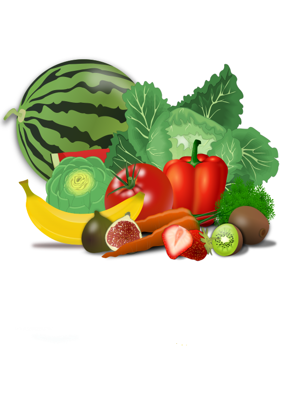 Healthy medium image png. Vegetables clipart sign