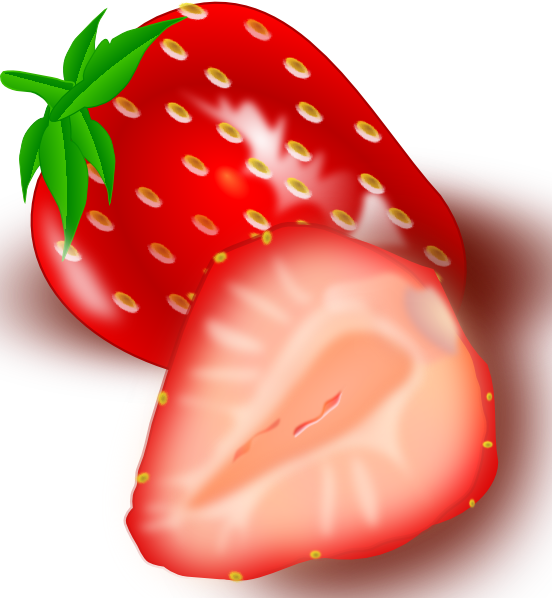 Clipart vegetables vegy. Free vector strawberry clip