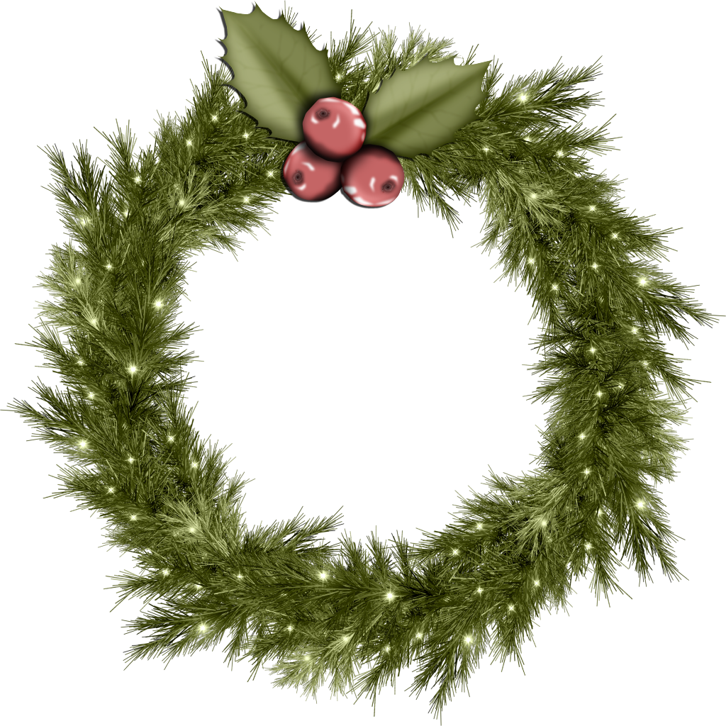 Forgetmenot christmas wreaths. Clipart vegetables wreath