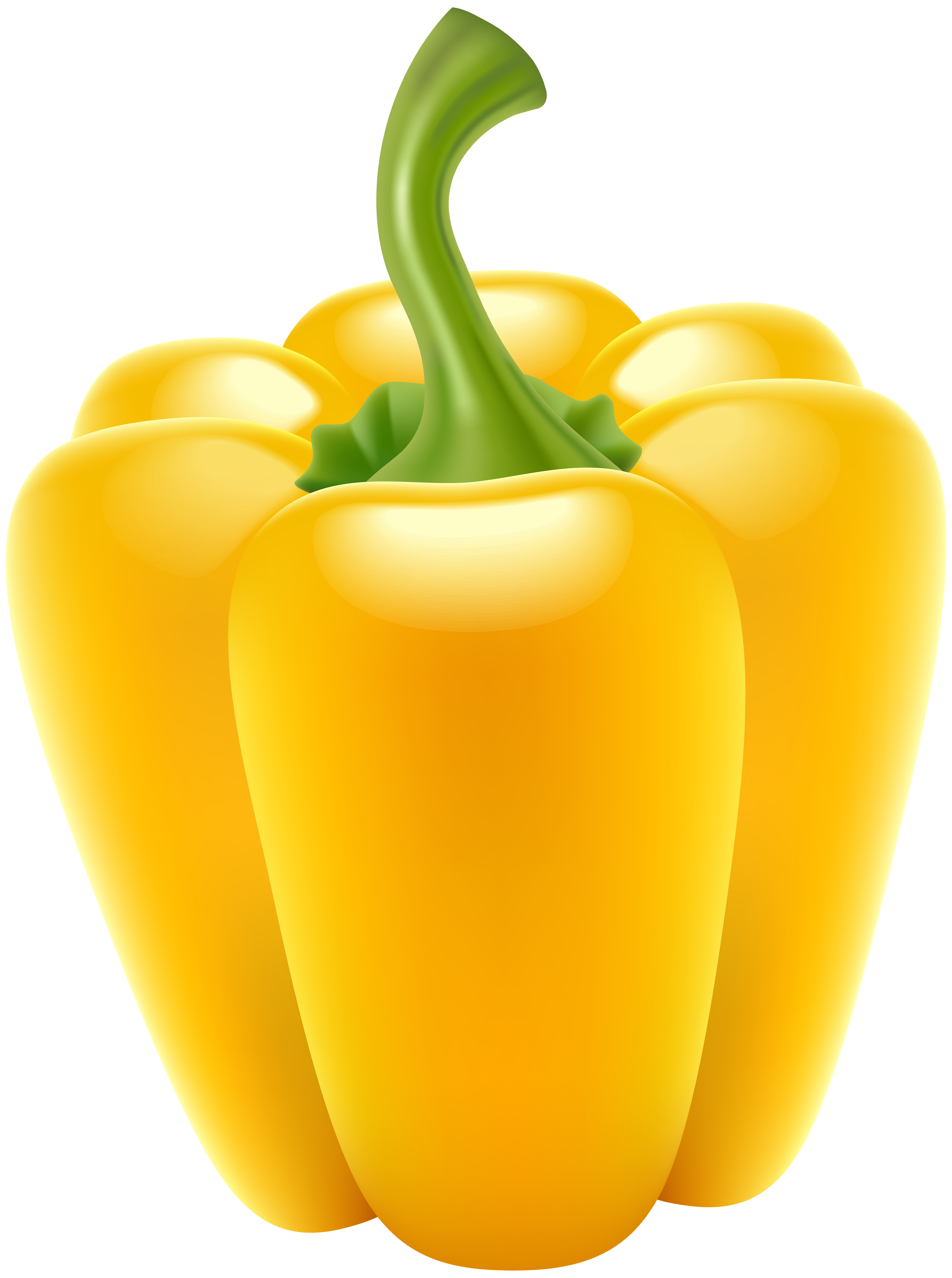 Bell transparent png clip. Peppers clipart yellow pepper