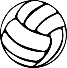 Clipart volleyball. Free printable clip art