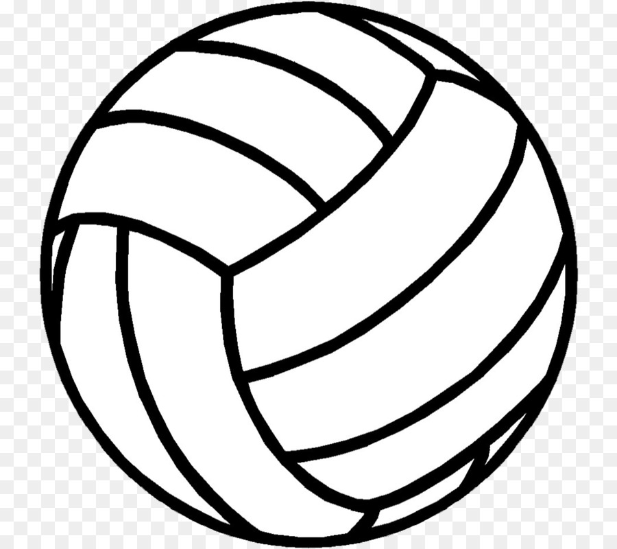 Volleyball clipart volleyball ball. Cartoon circle