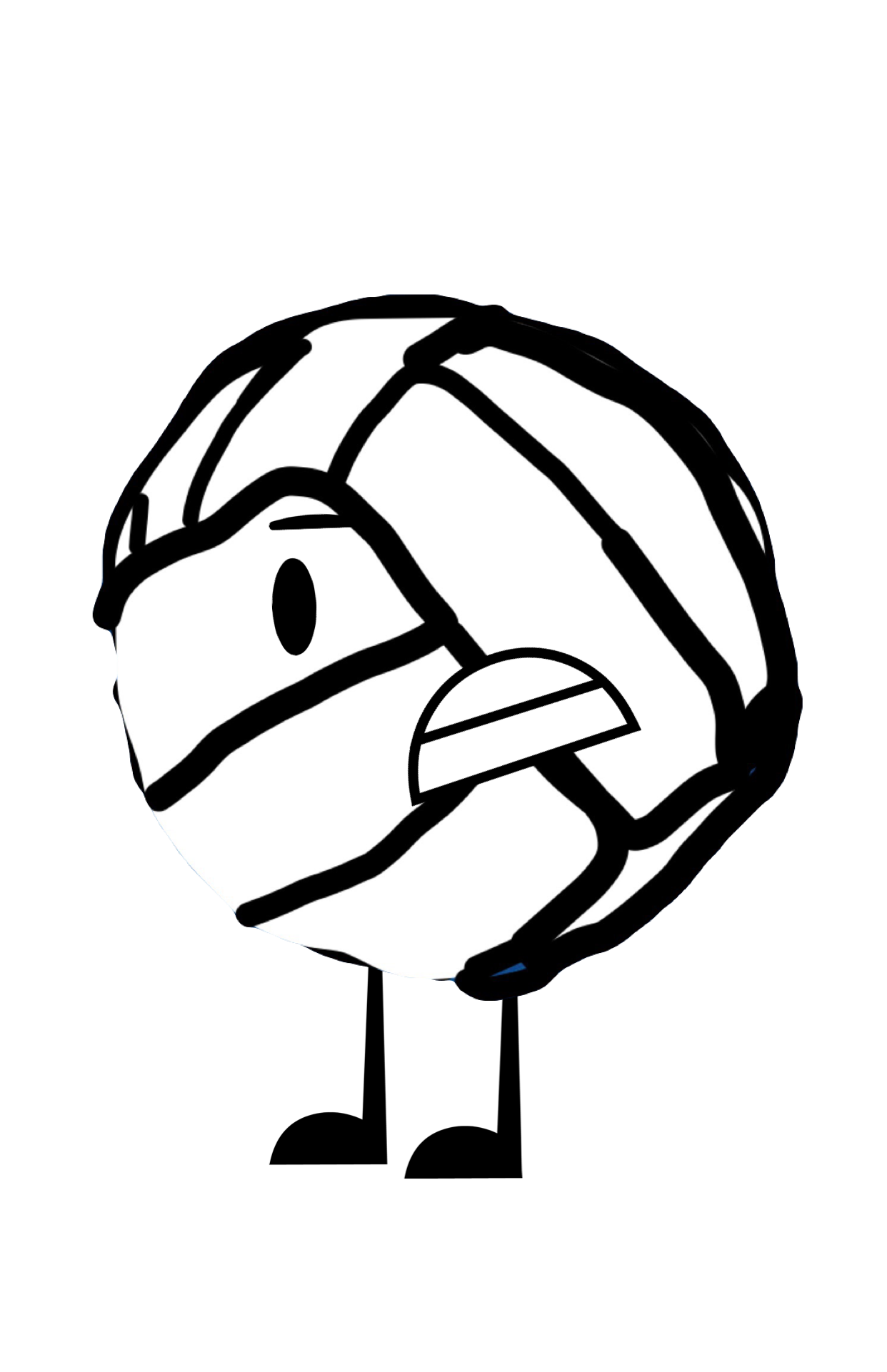 Clipart volleyball angry. Recommended character by me