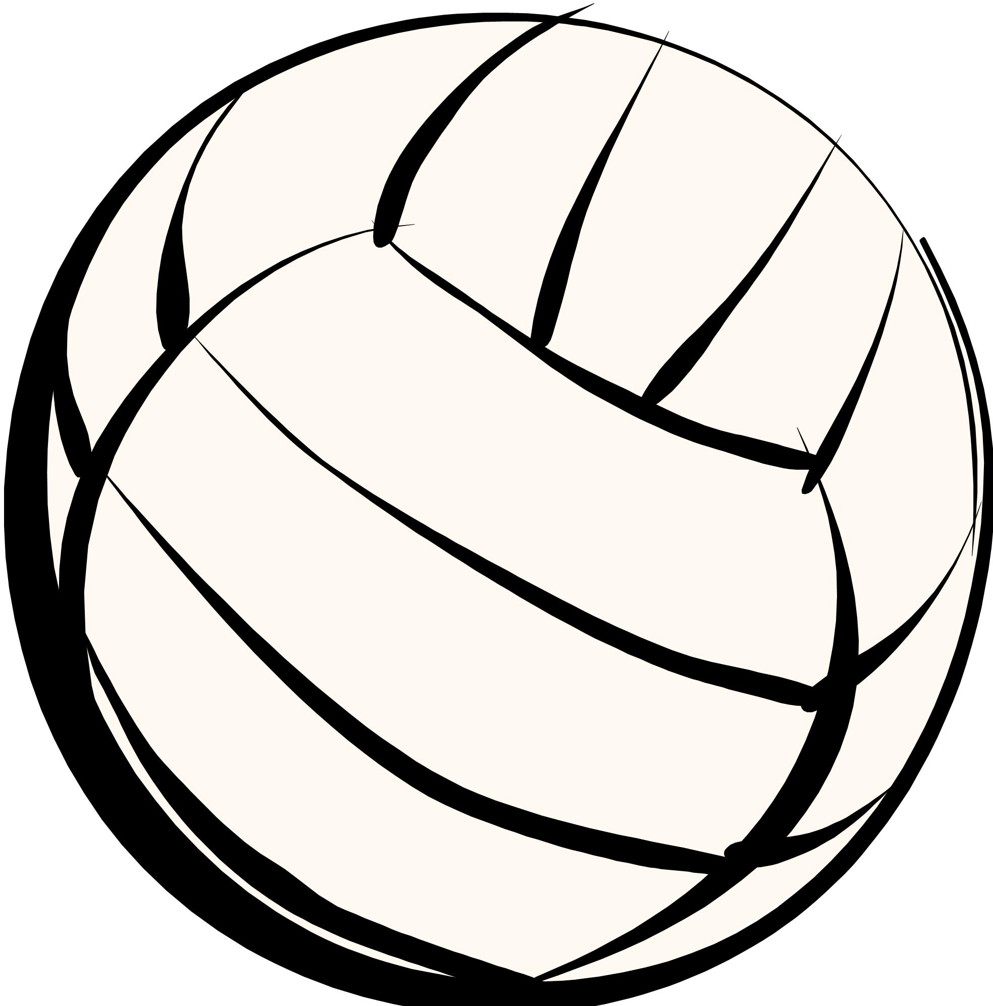 Volleyball clipart cartoon. Free animated download clip