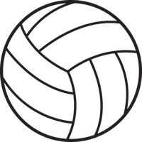 Volleyball clipart artistic. Download free png photo