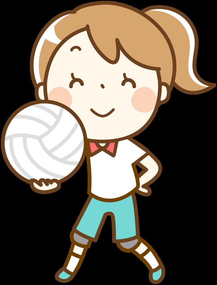 Clipart volleyball boys volleyball. Onlinelabels clip art girl