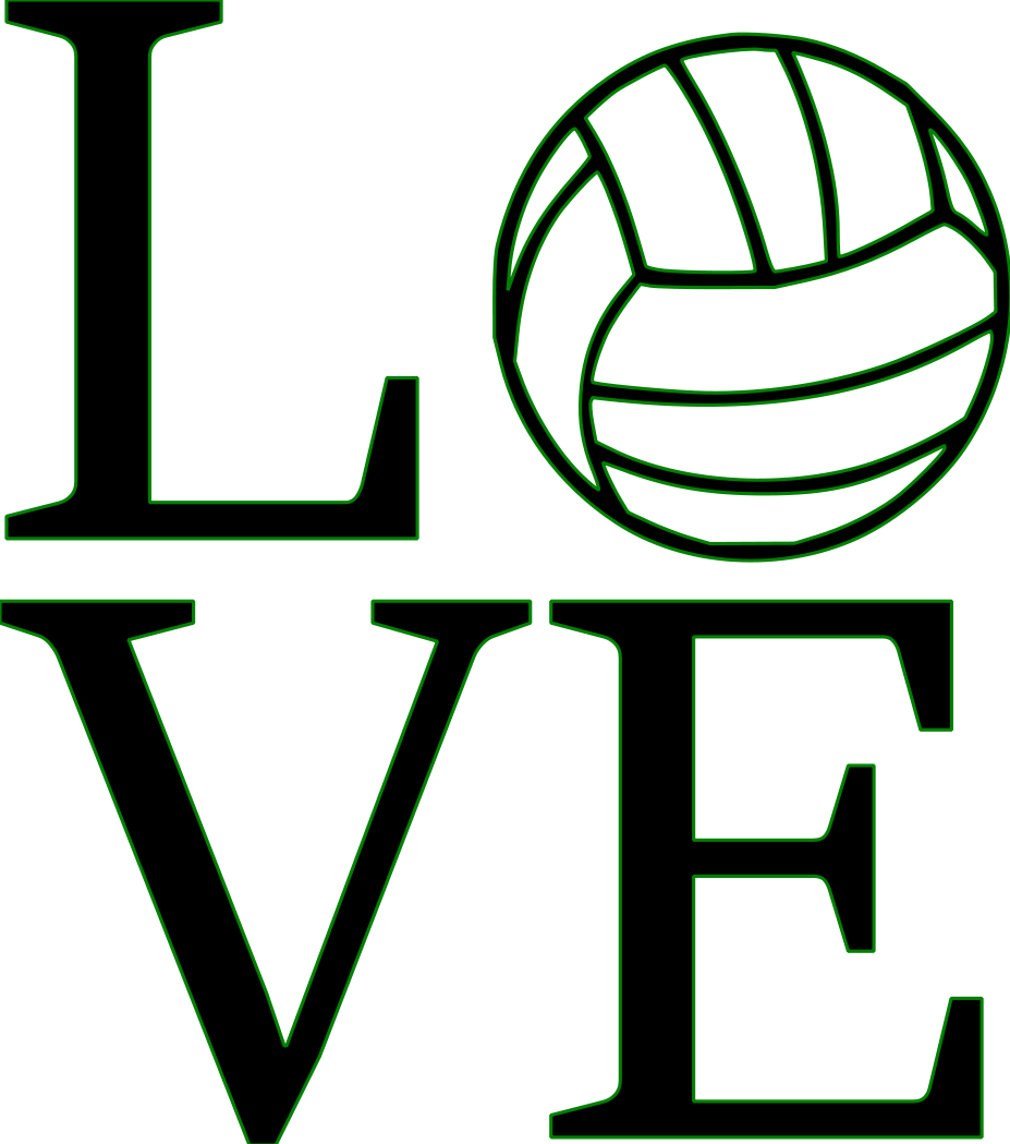 Volleyball clipart dad. Amazin tumbler image gallery