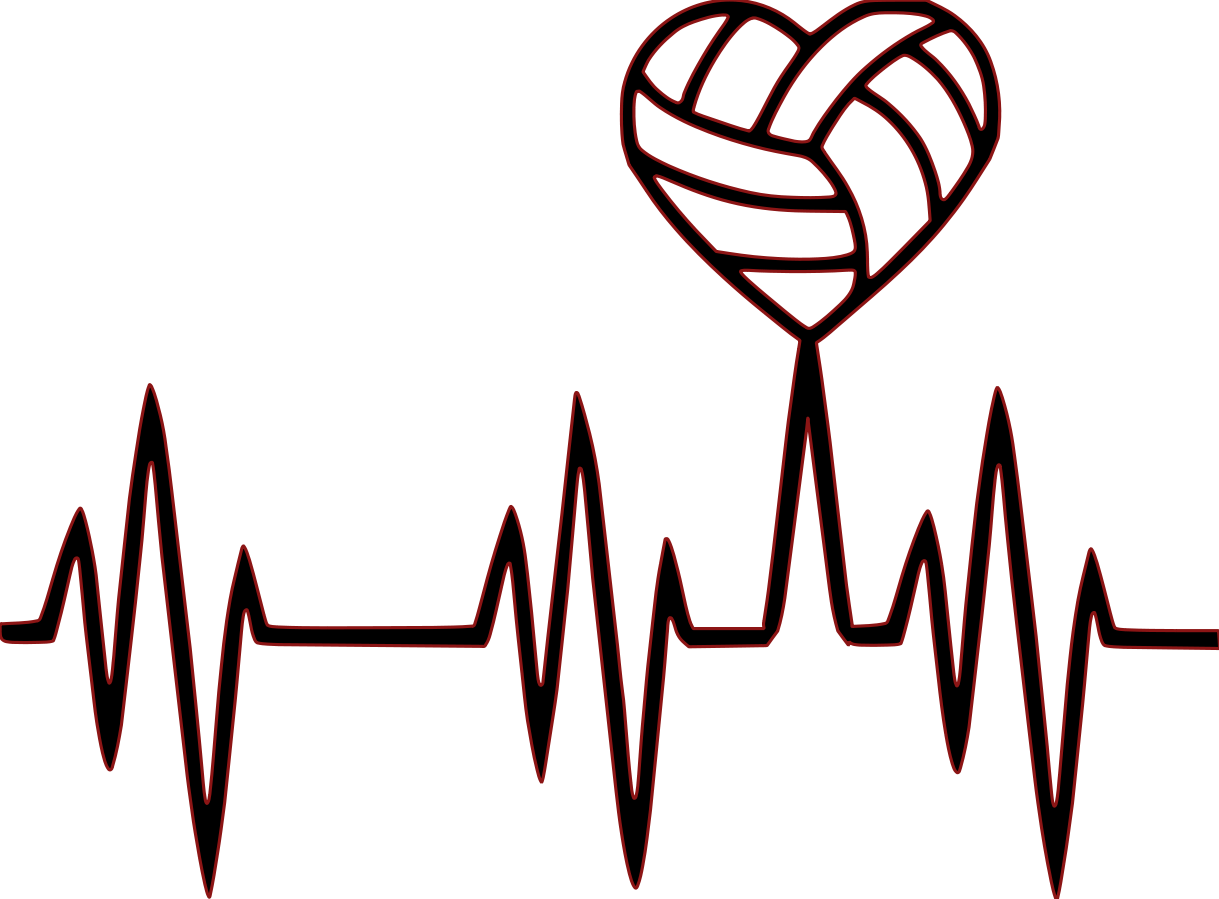 Amazin tumbler image gallery. Hearts clipart volleyball