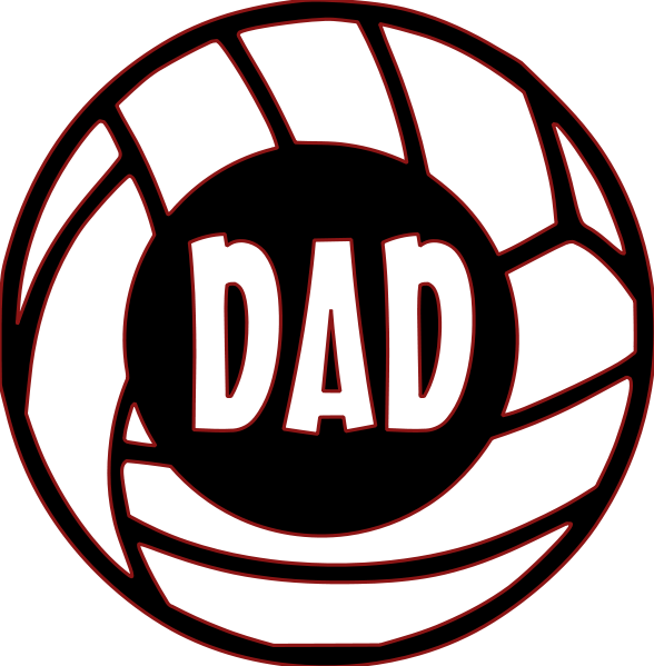 Amazin tumbler image gallery. Clipart volleyball dad