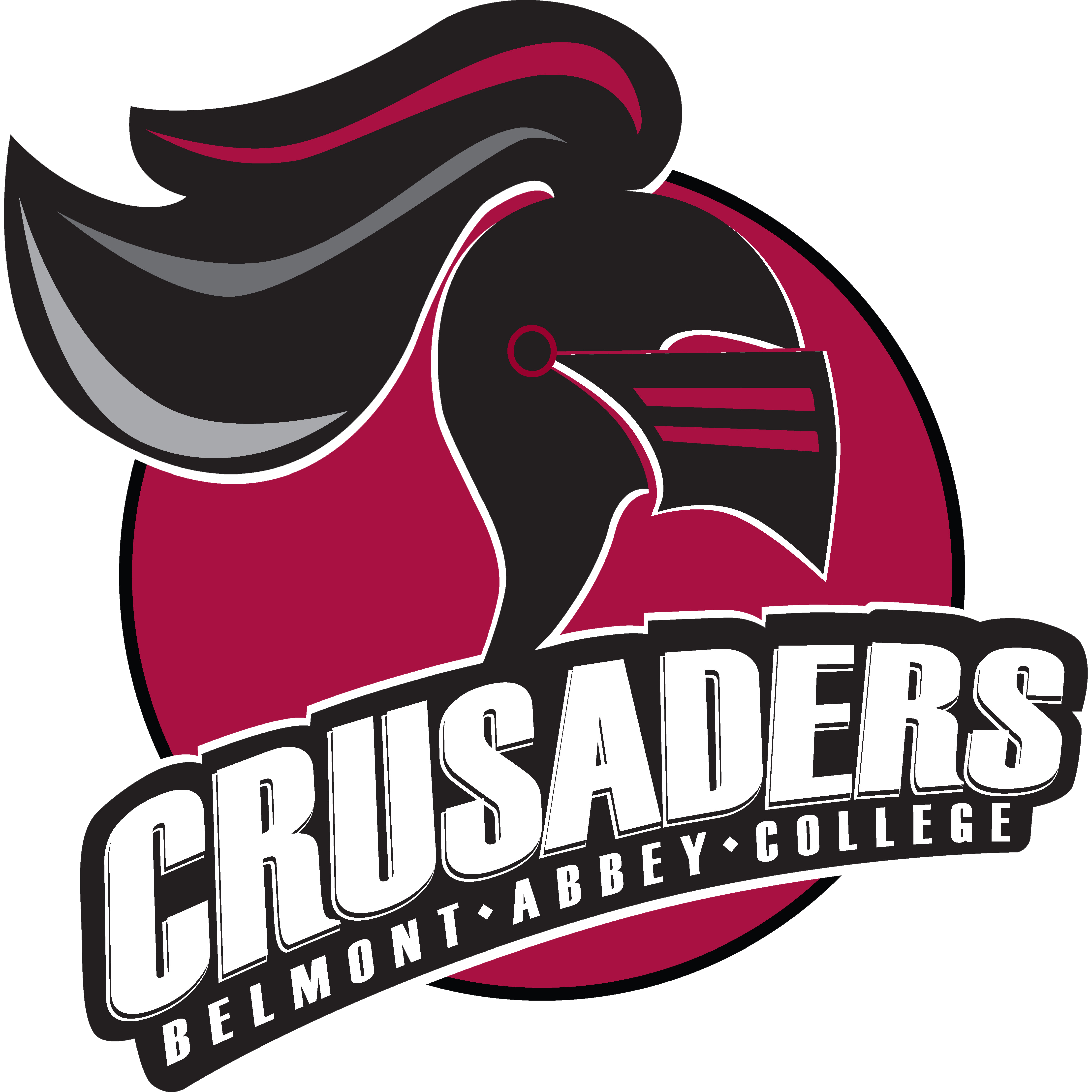Belmont abbey womens college. Logo clipart track and field