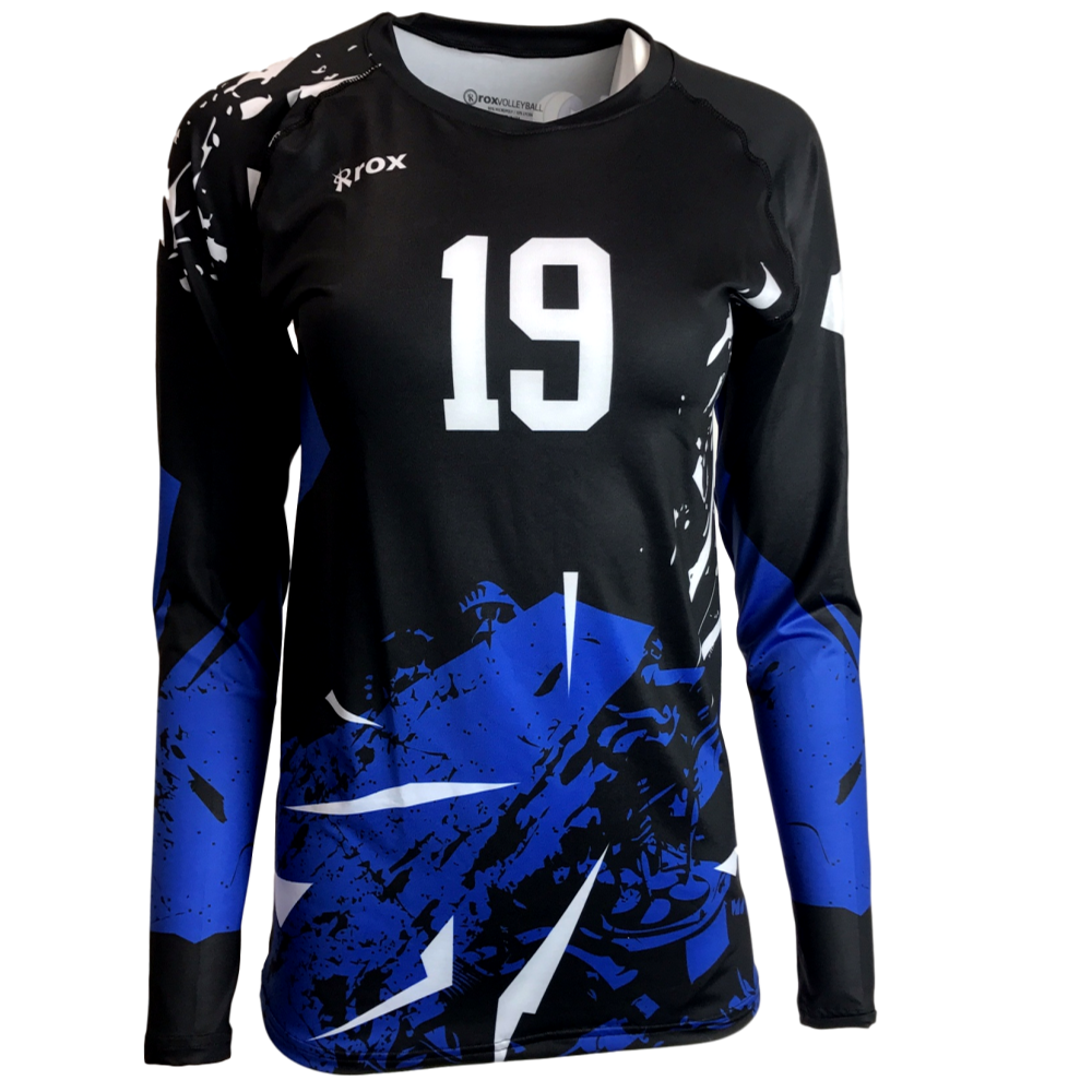 Shattered custom sublimated women. Clipart volleyball design