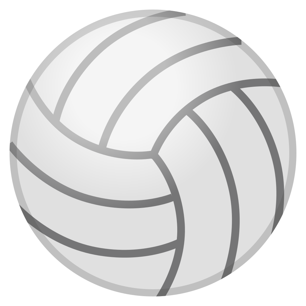 Icon noto activities iconset. Clipart volleyball emoji
