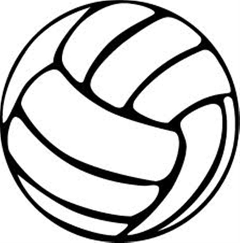 Clipart volleyball football. Free art download clip