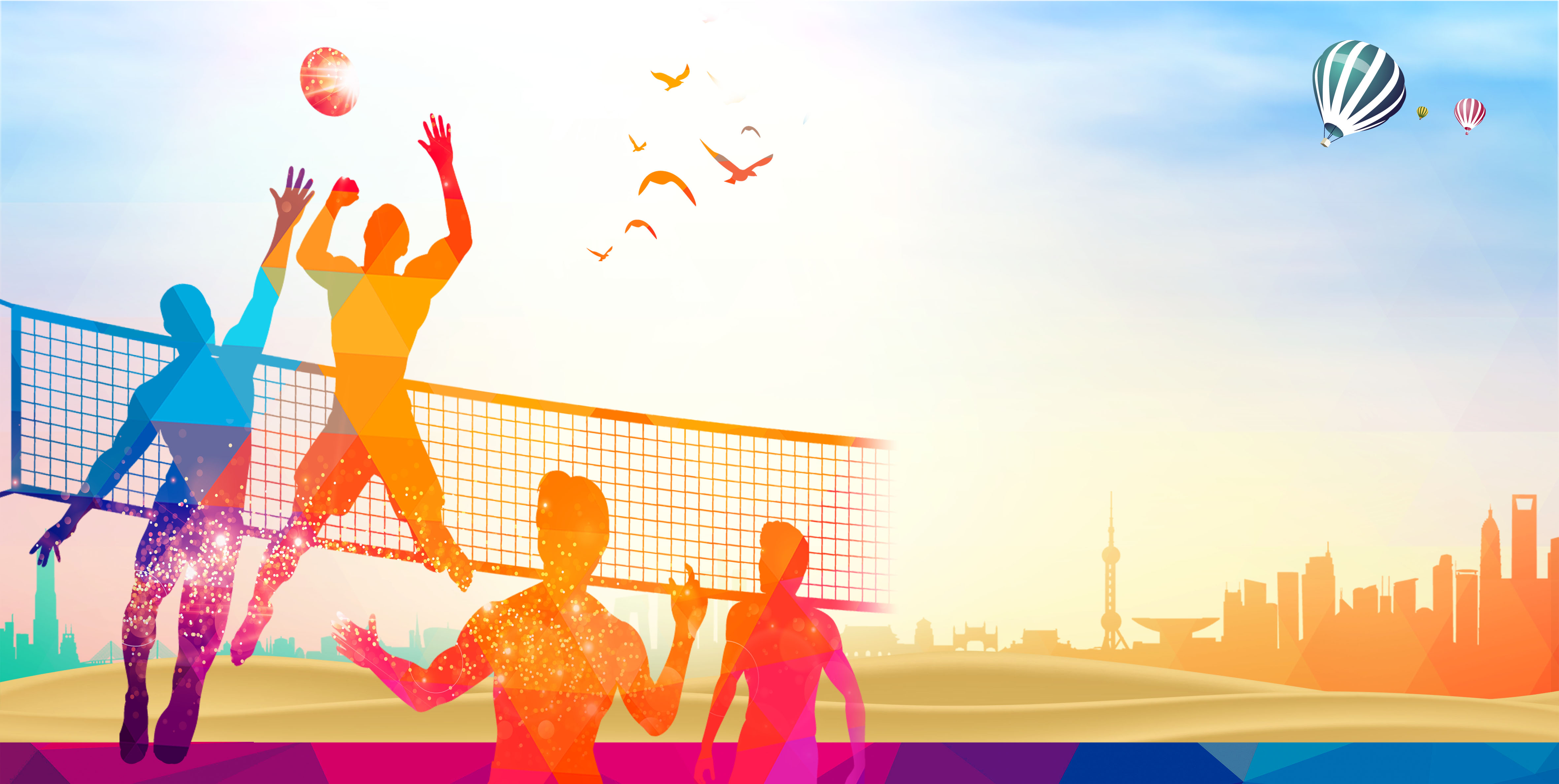 Background photos vectors . Clipart volleyball gambar
