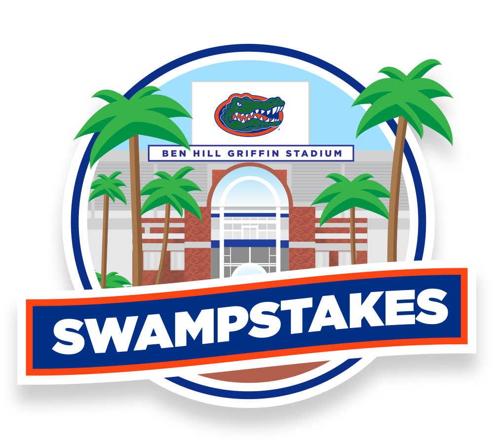 Swampstakes florida gators. Clipart volleyball gator