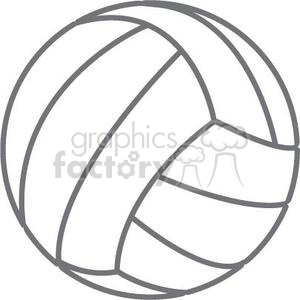 Royalty free . Volleyball clipart football