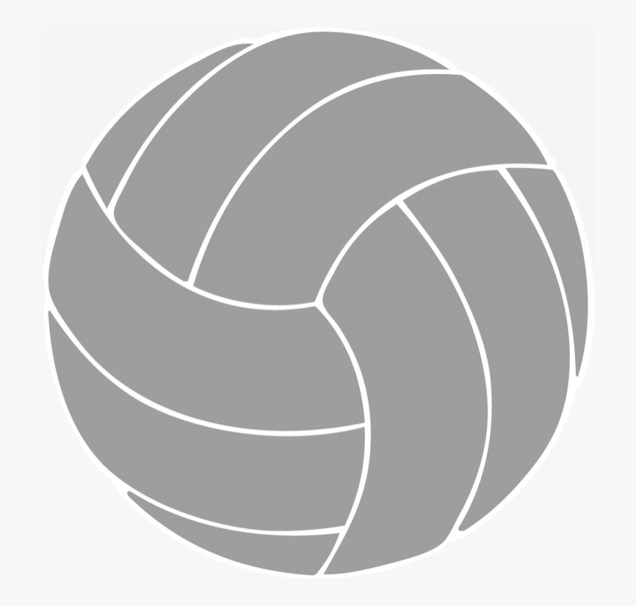 Volleyball clipart grey. Custom window decals transparent