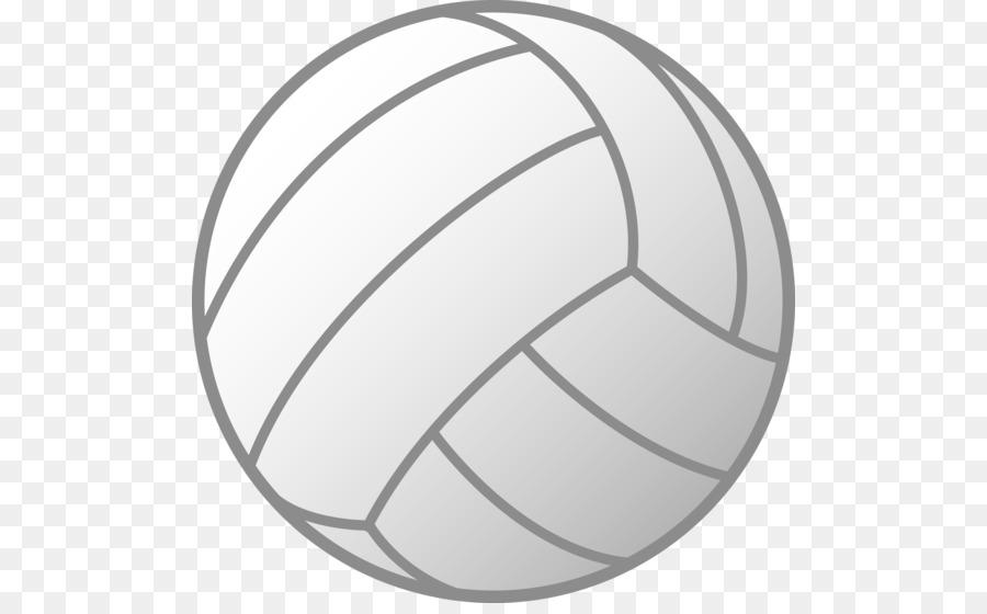 Volleyball clipart grey. Cartoon ball football