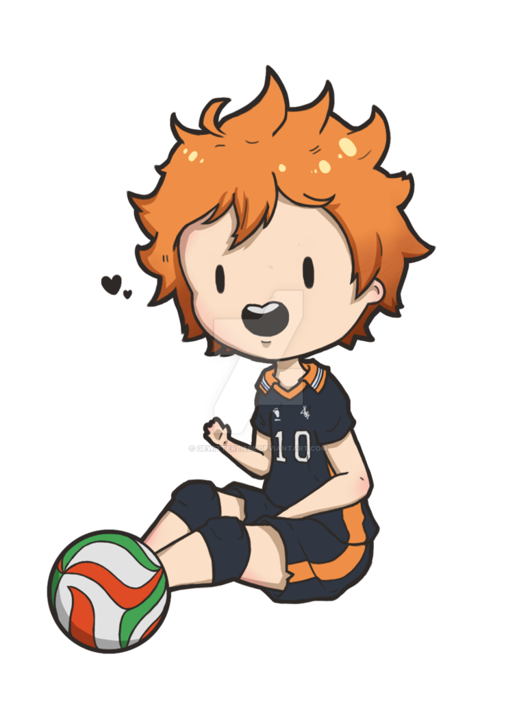 Hinata shouyou by gewitterliebe. Clipart volleyball haikyuu