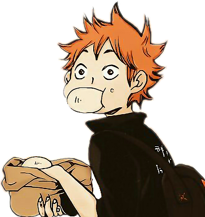 Hinata sticker by nein. Clipart volleyball haikyuu