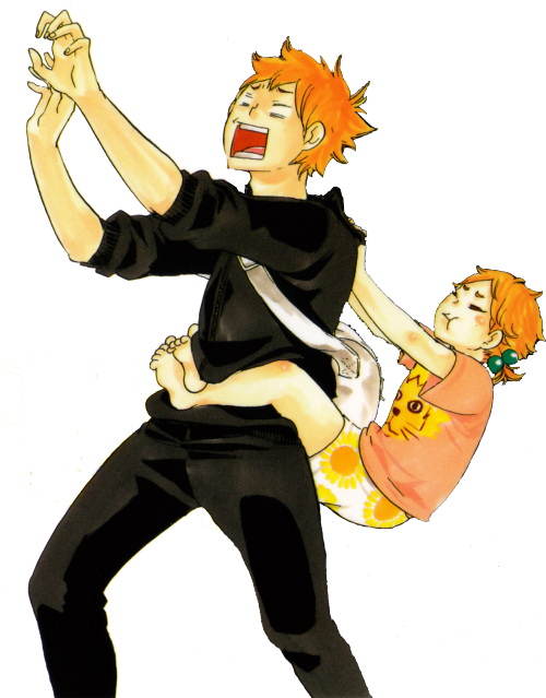 Clipart volleyball haikyuu. Hinata shouyou little sister