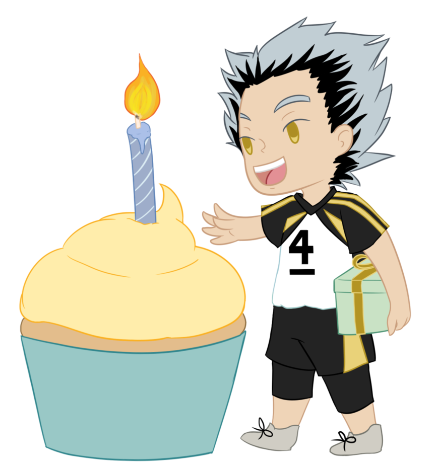 Bokuto by pprakaashi on. Clipart volleyball happy birthday