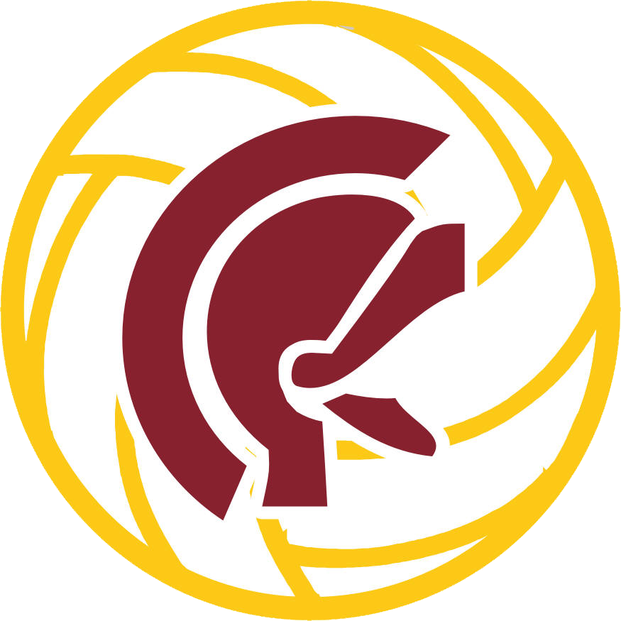 Clipart volleyball high school volleyball. Lassiter trojan marietta ga
