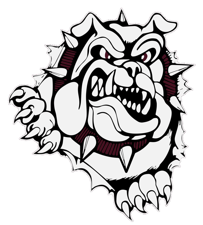 Woodridge team home bulldogs. Clipart volleyball lady bulldog