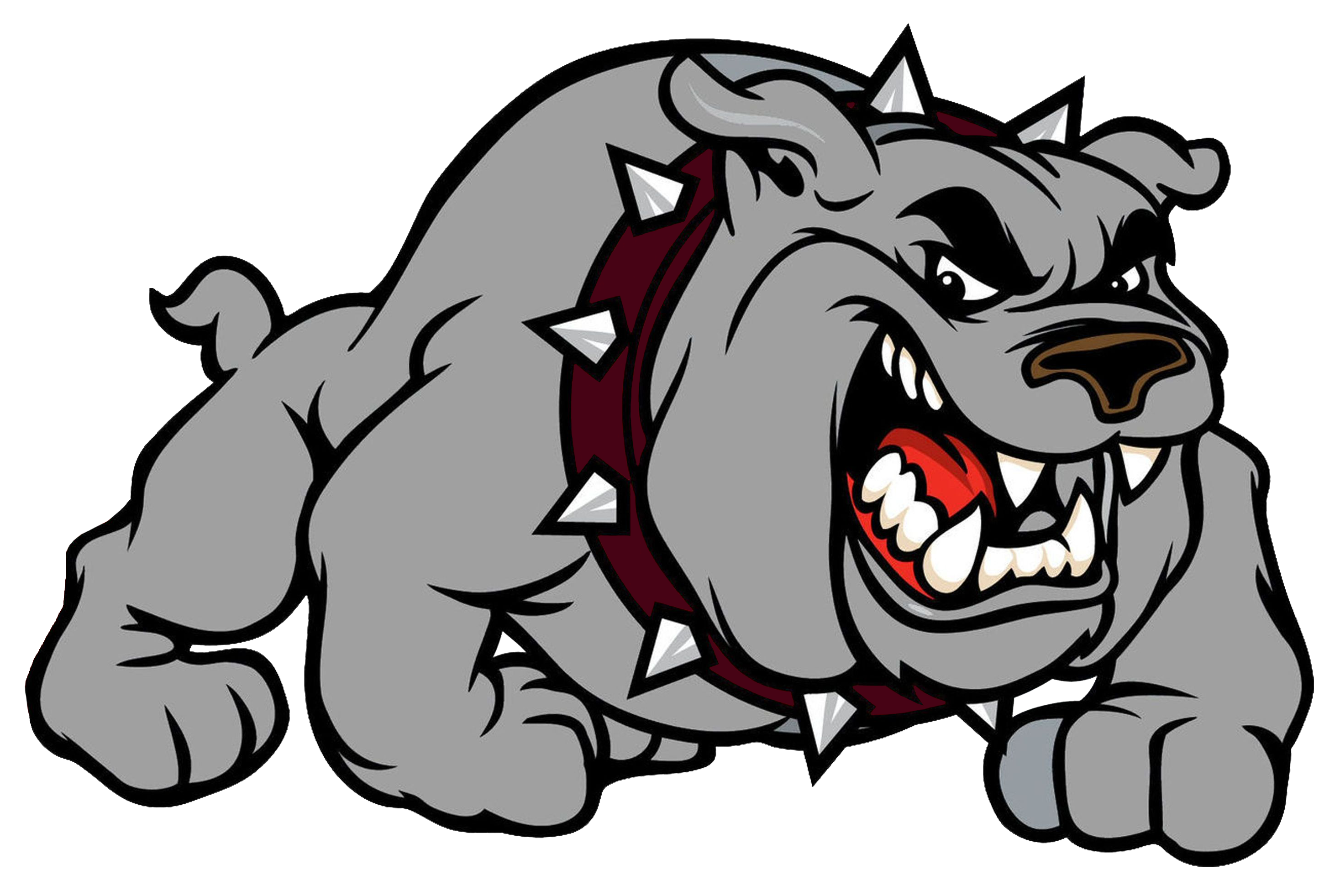 Clipart volleyball lady bulldog. Heights team home bulldogs