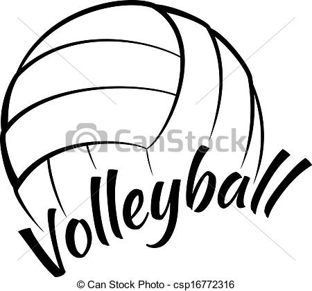 Clipart volleyball logo. Free download best on