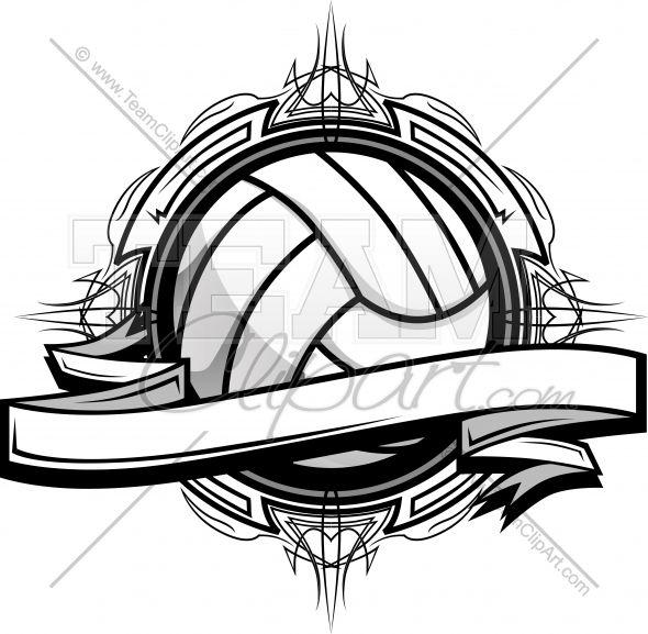 Image simon . Volleyball clipart logo