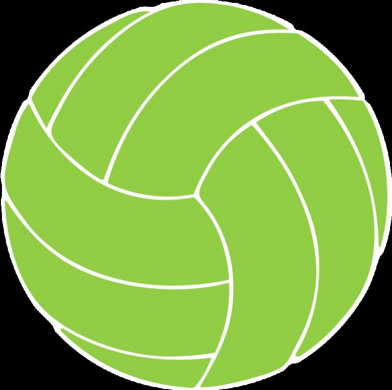 Volleyball clipart monogram. Sports pinterest