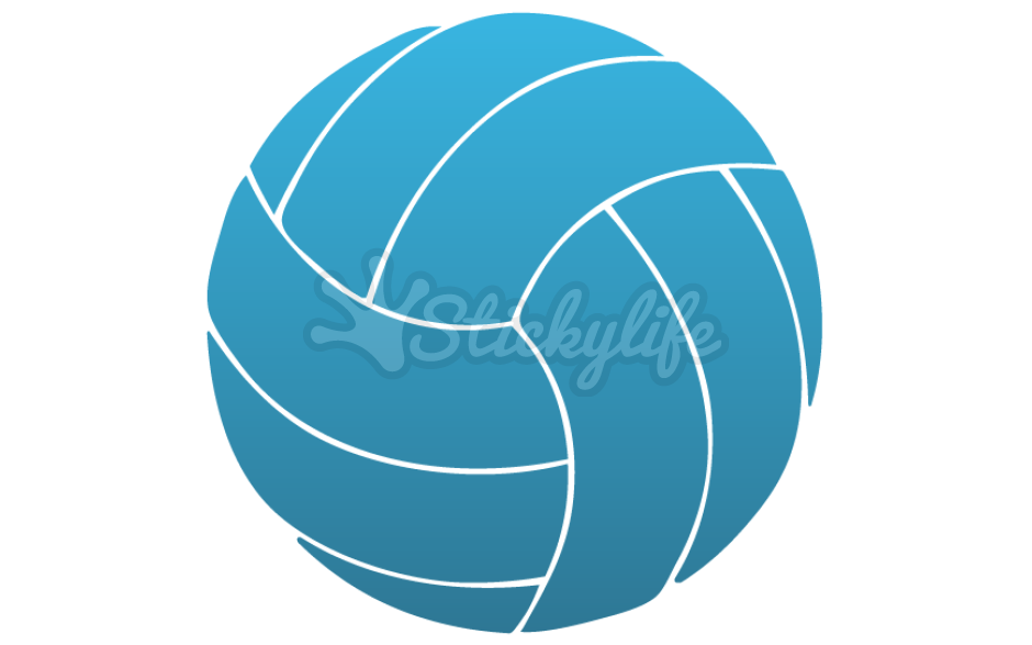 Heartbeat clipart volleyball. Decal custom window stickers