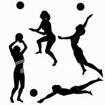 best p e. Clipart volleyball move