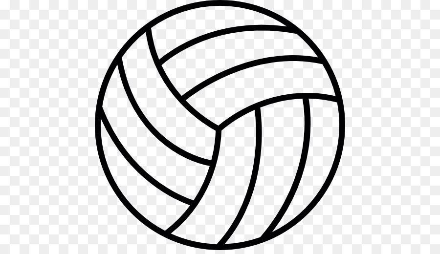 Cartoon ball sports . Clipart volleyball outline