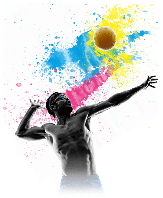 Graphics injury physio treatment. Clipart volleyball paint splatter