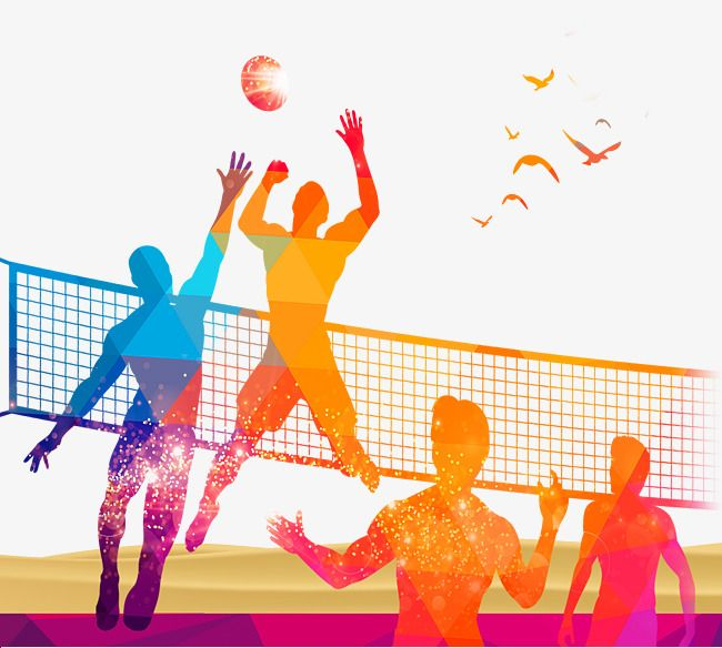 Pin by iftekhar ahmed. Volleyball clipart volleyball game