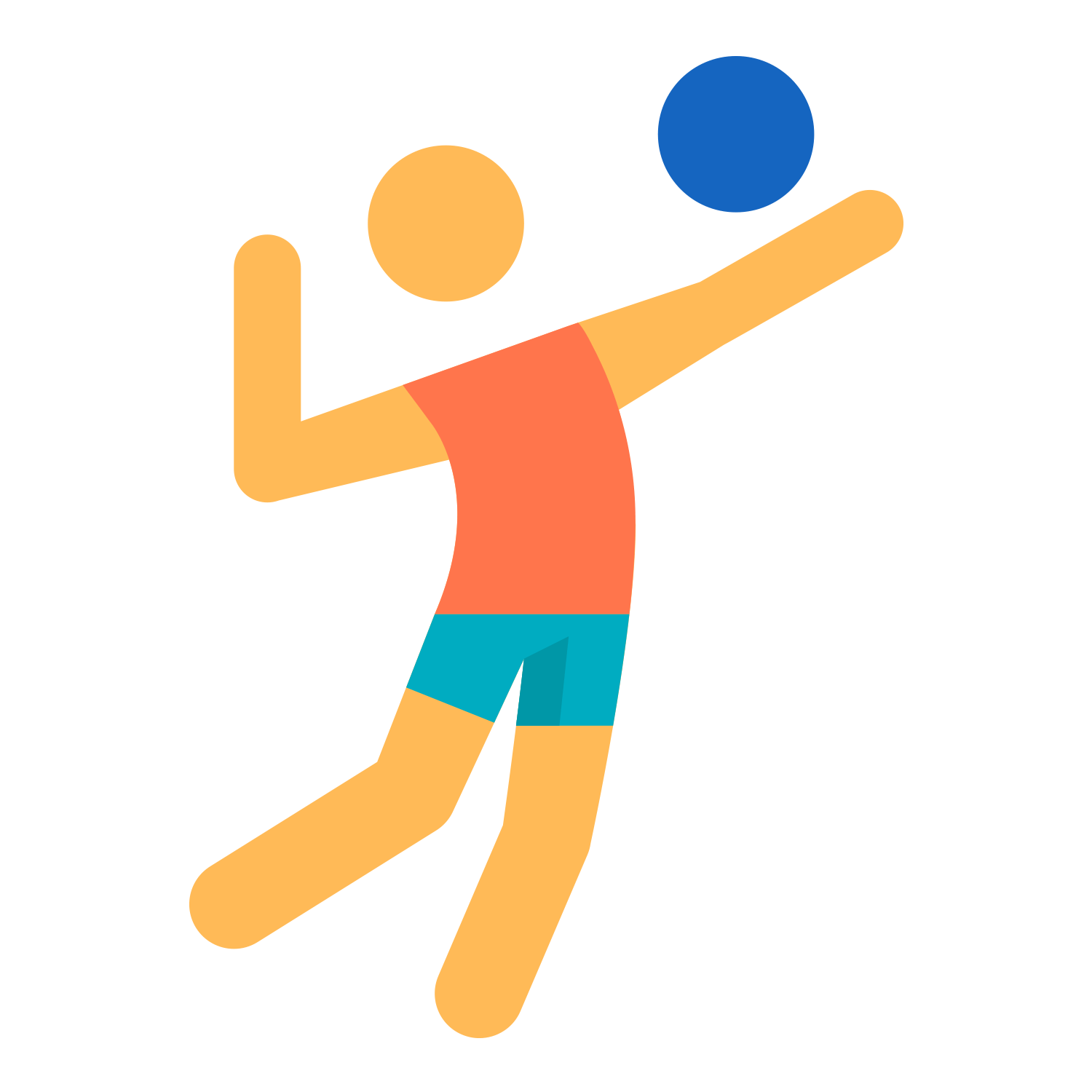 Beach sport icon transprent. Clipart volleyball sand volleyball
