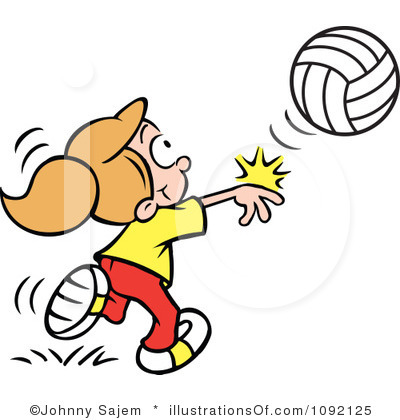 Clipart volleyball service. Serve panda free images